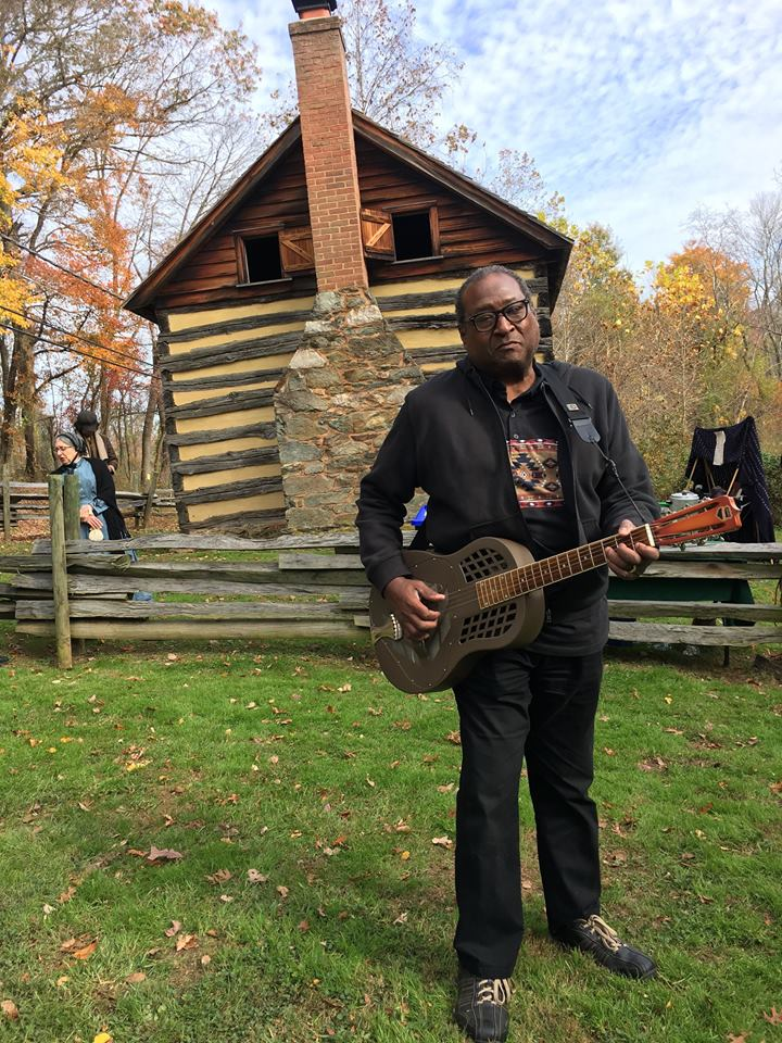 Rick Franklin at Oakely Cabin (Credit: Marilyn Leigh Stone)